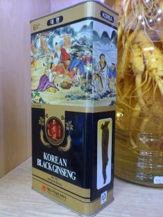 Hắc sâm củ khô deadong 300g Hàn Quốc