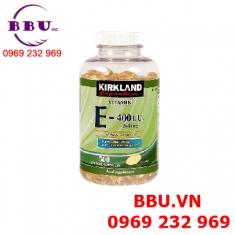 Viên Vitamin E Kirkland 400 IU