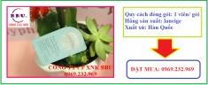 Mặt nạ ngủ dưỡng trắng dạng viên White Plus Renew Capsule Sleeping Pack của Hàn Quốc
