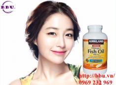 Dầu cá Kirkland Signature Omega-3 Fish Oil 400 viên 1000 mg