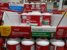 Viên uống bổ khớp Schiff Glucosamine 1500mg plus MSM hộp 150 viên của Mỹ