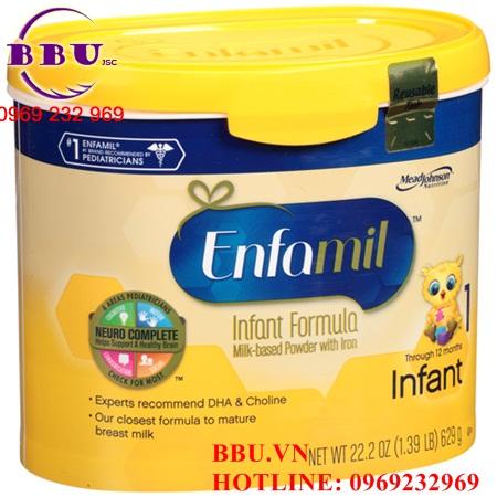 Sữa Enfamil Premium Infant dành cho bé từ 0-12 tháng của Mỹ
