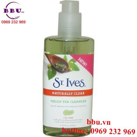 Sữa Rửa Mặt St. Ives Blemish Control Green Tea Gel Cleanser