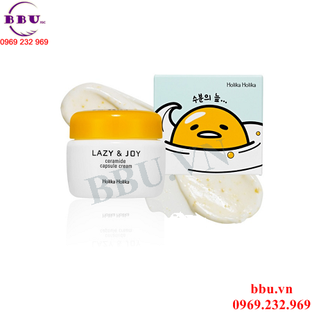 Holika Kem Dưỡng Da Lazy Joy Ceramide Capsule Cream