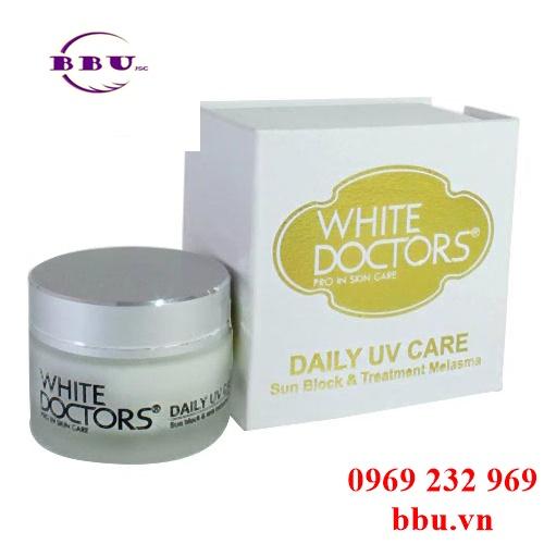 Kem chống nắng ngừa nám white doctors daily uv care