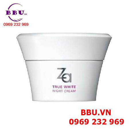 Kem dưỡng ẩm làm trắng da ban đêm True White Night Cream ZA