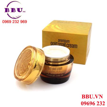 Kem dưỡng da GOODAL Premium Gold Snail Cream của Hàn