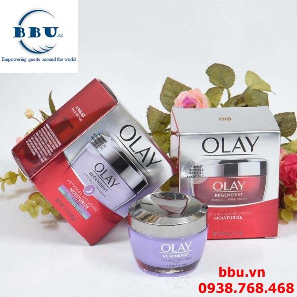 Kem dưỡng trắng da ban đêm Olay Regenerist Night Recovery Cream