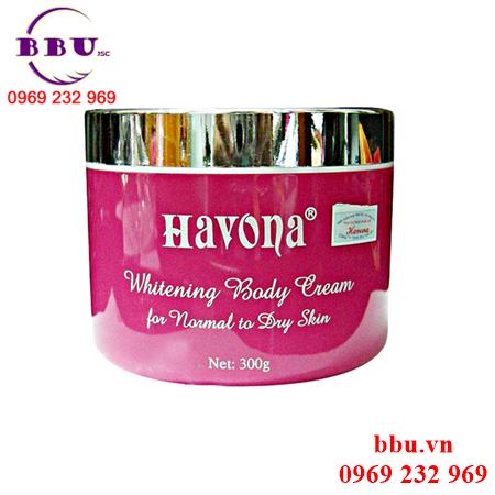 Kem dưỡng trắng da Havona Whitening Body Cream