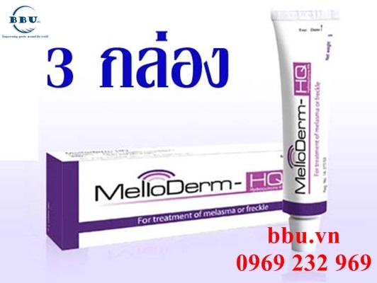 Tại sao phải trị nám và tàn nhang với Melloderm Thái Lan?