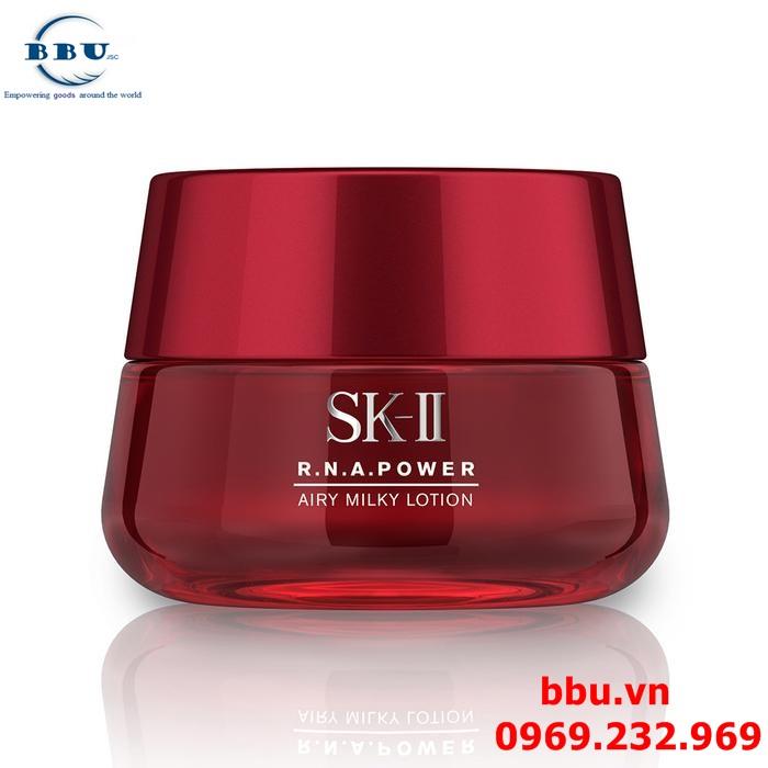 Làm đẹp da với kem chống lão hóa SK-II  R.N.A Power Airy Milky Lotion