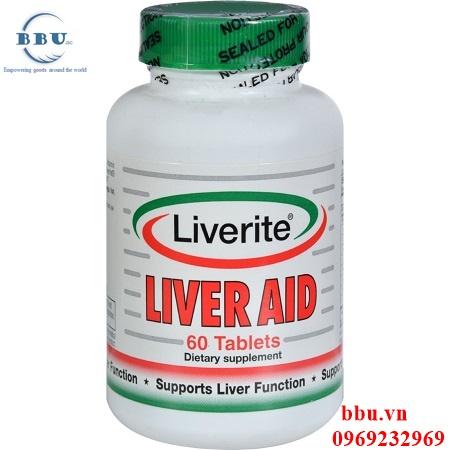 Giải độc gan LIVER AID 60 viên