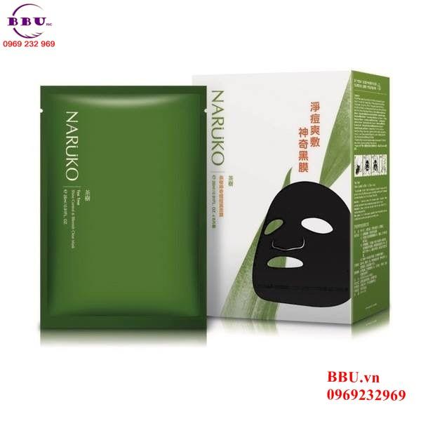 Mặt nạ Naruko-teatree shine control & Blemish Clear Mask