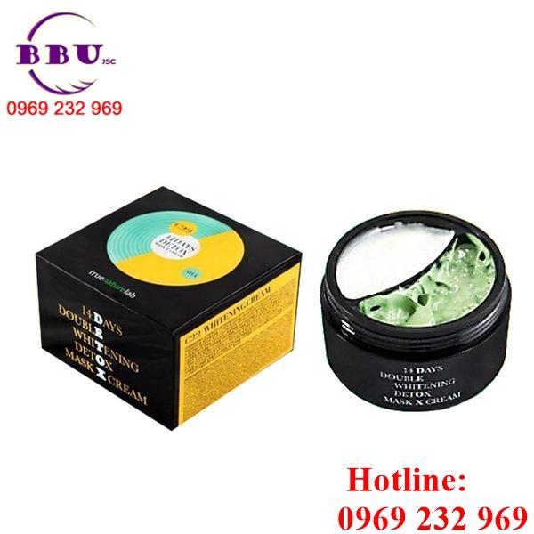 Mặt nạ TrueNatureLab-Kem Dưỡng 14 Days Detox Mask X Cream