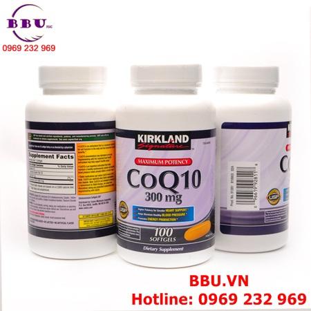 Thuốc Bổ Tim Mạch Kirkland Signature CoQ10 300 mg của Mỹ