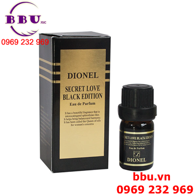 Nước hoa vùng kín Dionel Secret Love Black Edition