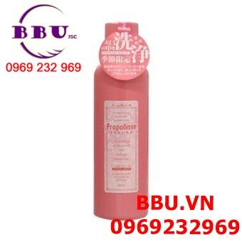 Nước súc miệng Propolinse Sakura màu hồng