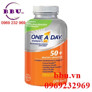 One a day for women 50+