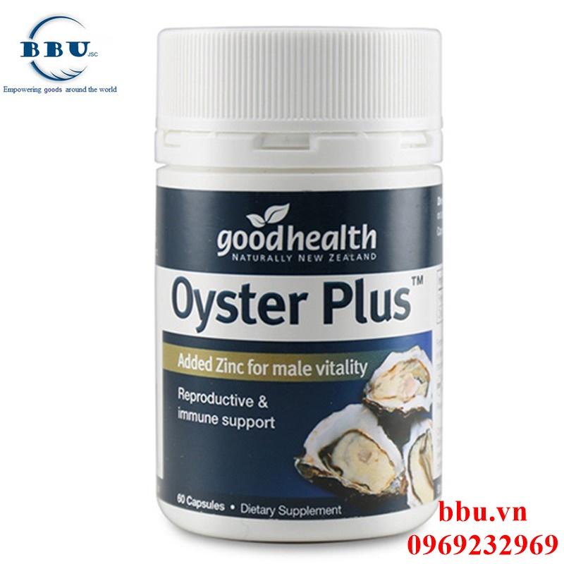 Oyster Plus Goodhealth hộp 60 viên tăng cường sinh lý nam giới