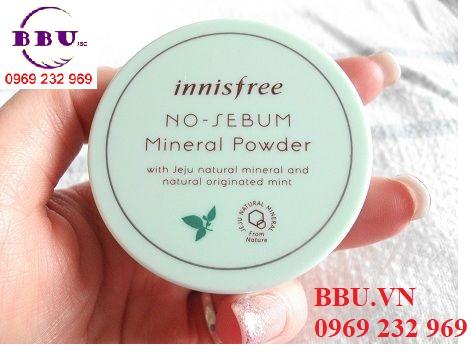 Phấn phủ kiềm dầu dạng bột No-Sebum Mineral Powder