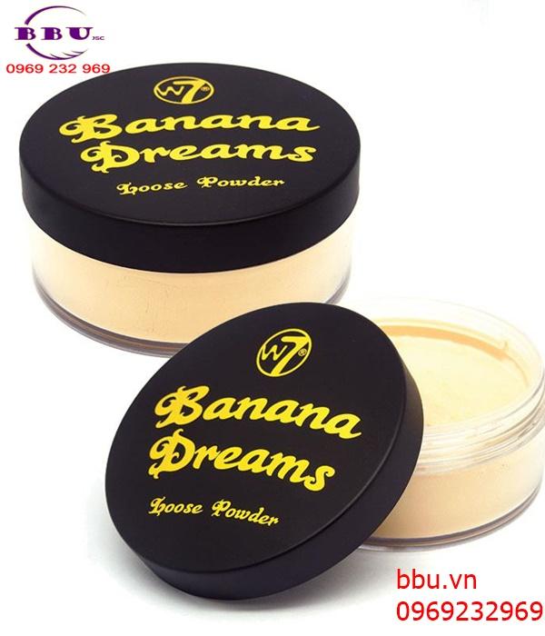 Phấn phủ w7 banana dreams loose powder dạng bột