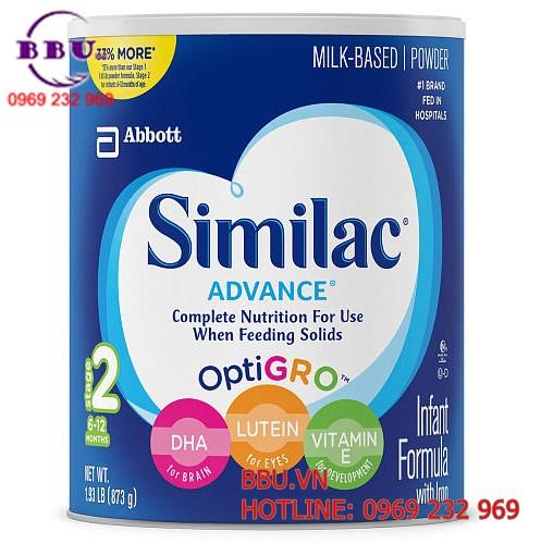 Sữa Similac Advance cho bé từ 6-12 tháng