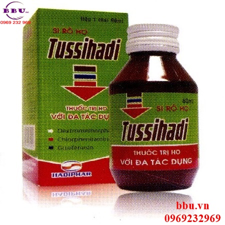 Siro ho Tussihadi 60ml