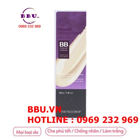 Kem nền The Face Shop BB cream Face it Power Perfection SPF37 PA++
