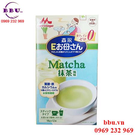 Sữa cho bà bầu của Nhật Morinaga vị trà xanh, cafe loại 216g