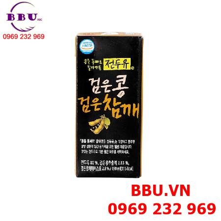 Sữa đậu đen Hanmi Hàn Quốc thùng 16 hộp