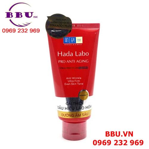 Sản phẩm sữa rửa mặt dưỡng da chống lão hóa Hada Labo