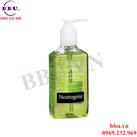 Sữa Rửa Mặt Oil Free Acne Wash Redness Soothing Facial Cleanser