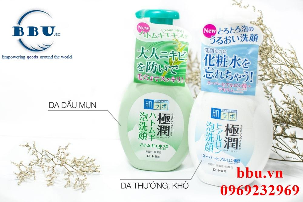 Sữa Rửa Mặt Tạo Bọt Hada Labo Nhật Bản