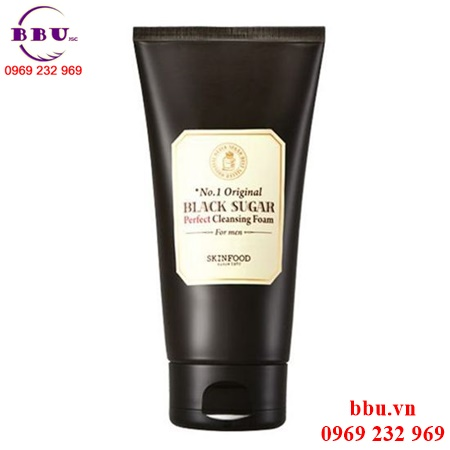 Sữa rửa mặt The SkinFood Black Sugar Perfect Cleansing Foam For Men