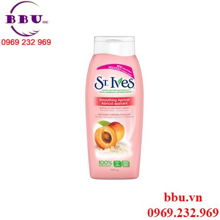 St. Ives Apricot Smoothing tẩy tế bào chết