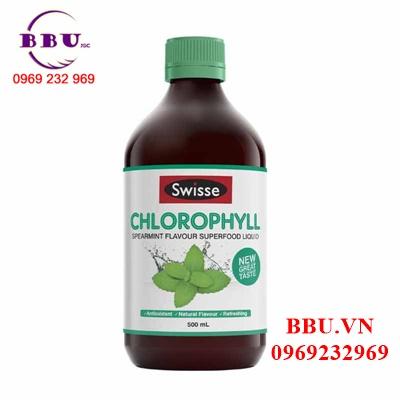 Nước diệp lục vị Bạc Hà Swisse Chlorophyll Spearmint của Úc