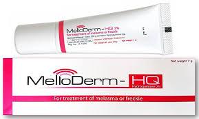 Sản phẩm thuốc điều trị nám da, tàn nhang, đồi mồi Melloderm-HQ 2% nhập khẩu