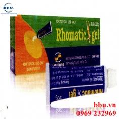 Thuốc xoa bóp giảm đau Rhomatic gel