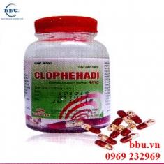 Thuốc trị bệnh về đường hô hấp hay bệnh dị ứng Clophehadi