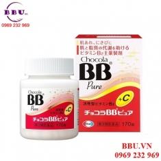 Viên uống trị mụn bổ sung Vitamin Chocola BB Pure