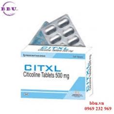 Citxl 500mg bảo vệ, phòng ngừa và chữa tai biến mạch máu não
