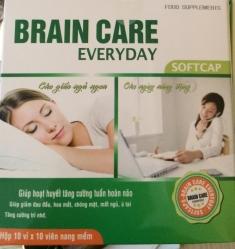 Ginko brain care điều trị chứng mất ngủ, khó ngủ