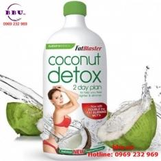 Nước uống Giảm Cân Hiệu Quả Coconut Detox 750ml từ ÚC