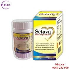 Setava lọ 60 viên hổ trợ điều trị bệnh tiểu đường