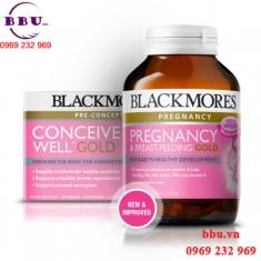 Thuốc bổ bà bầu Úc Blackmores Pregnancy và Breast Feeding Gold