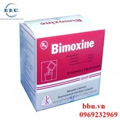 Thuốc kháng sinh điều trị nhiễm khuẩn đường hô hấp, tai mũi họng Bimoxine