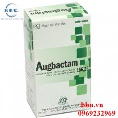 Thuốc kháng sinh điều trị viêm amidan, viêm xoang, nhiểm khuẩn đường hô hấp Augbactam 156,25