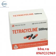 Thuốc kháng sinh điều trị viêm amidan, viêm xoang, viêm phổi, viêm phế quản Tetracycline 500mg