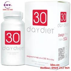Thuốc uống giảm cân 30 Day Diet 60 Viên của Mỹ