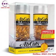 Thuốc uống giảm cân AbCuts CLA Belly Fat Formula của Mỹ